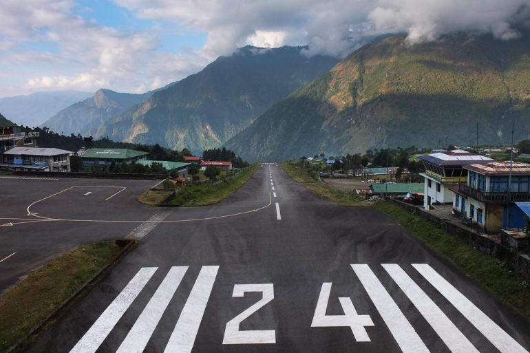 Pas startowy w Lukli