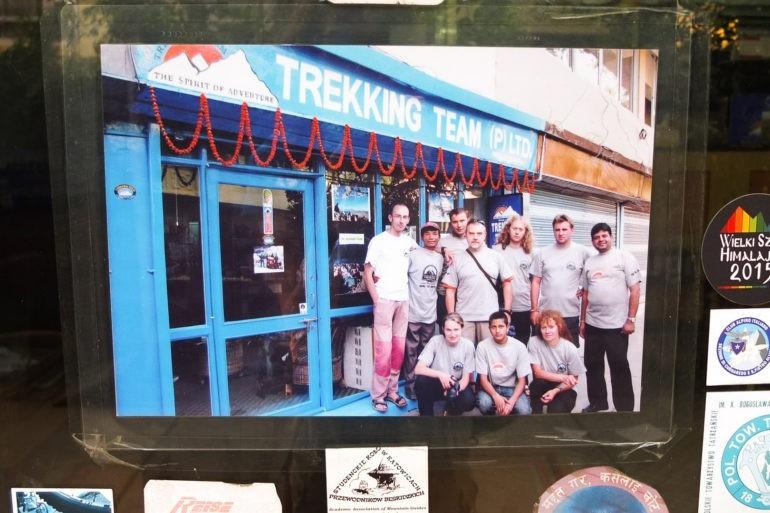Nie przez przypadek znaleźliśmy się w tej agencji. Na zdjęciu właściciel Klubu Podróżników Namaste w Katowicach