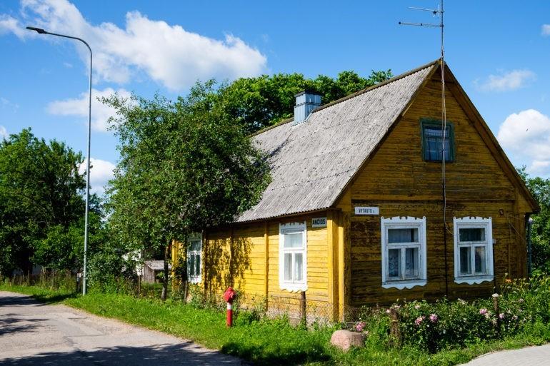Stary dom w miejscowości Wiejsieje