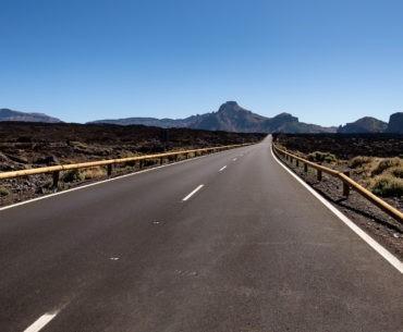 Droga wokół Teide na Teneryfie
