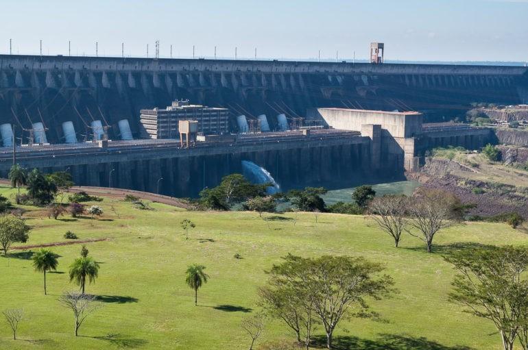 Itaipu - Największa w Ameryce elektrownia wodna