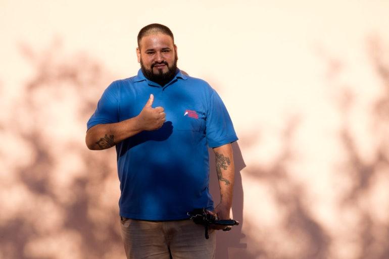 Edgar, przeniósł się do Chaco z miłości do regionu