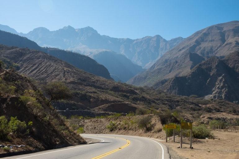 Pozbywamy się wysokości zbliżając się do granicy z Argentyną i siedlisk krwiożerczych owadów