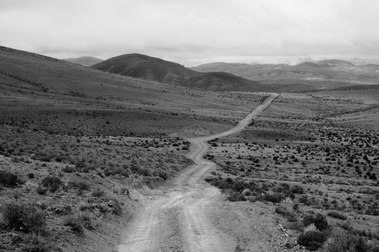 Droga przez boliwijskie pustkowie