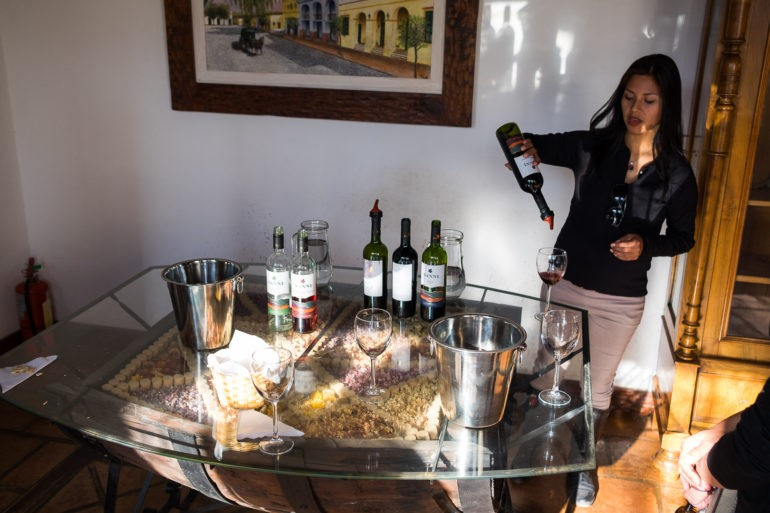 Degustacja win w Cafayate