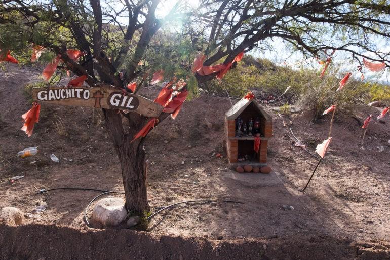 Kapliczka dla Gauchito Gila