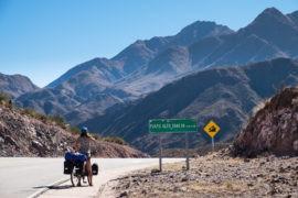 Droga z Chilecito na południe