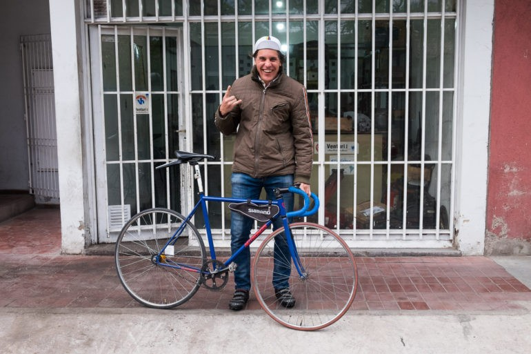 Andres gościł nas w Mendozie. Sympatyczny rowerowy pasjonat