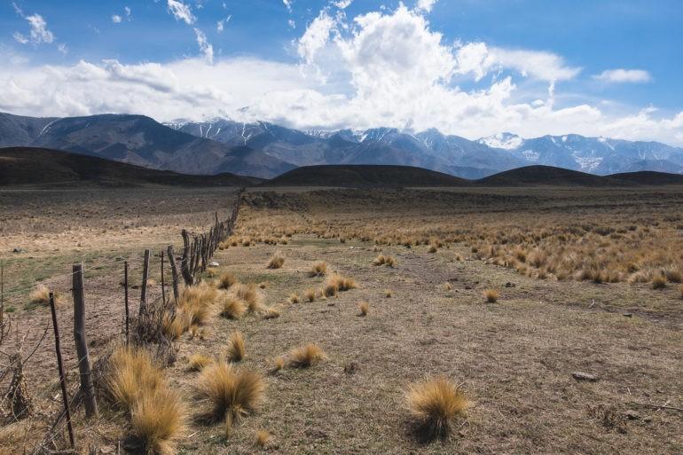 Kilkaset metrów powyżej zalewu radykalnie zmieniają się krajobrazy