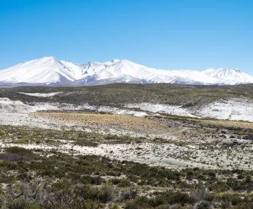 Ośnieżone andyjskie szczyty schładzają docierające do nas powietrze