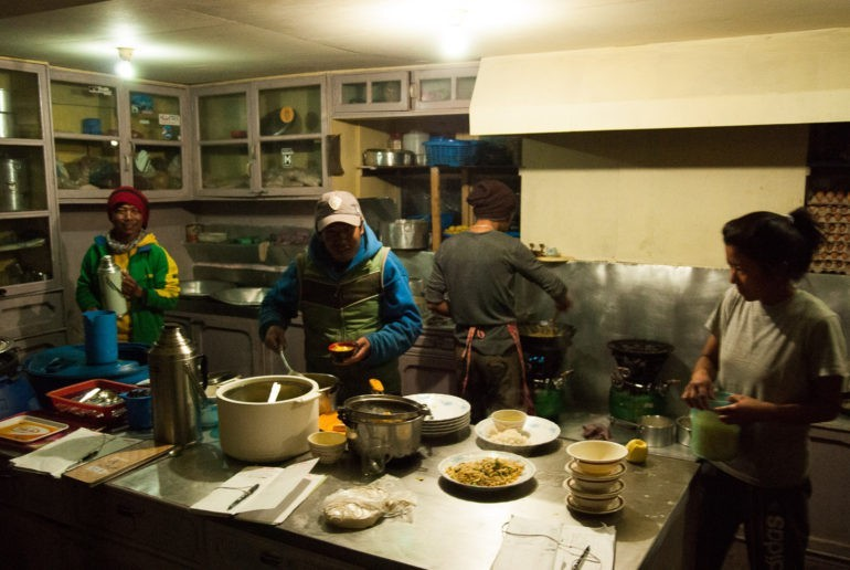 Szybkość działań w kuchni robiła wrażenie.