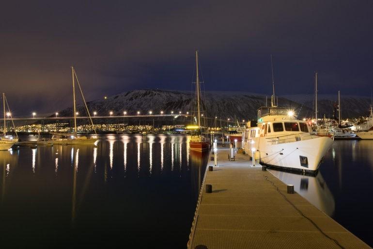 Port jachtowy w Tromsø