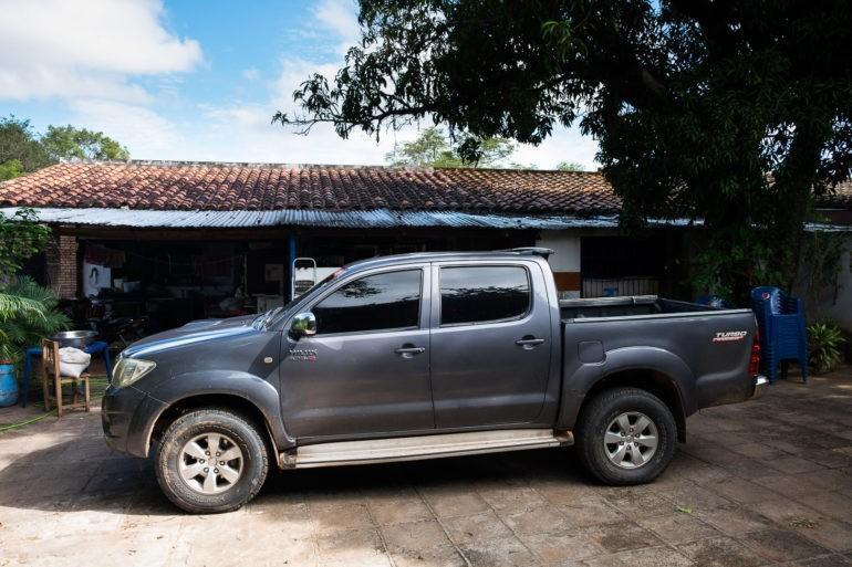 Toyota Hilux, symbol paragwajskiego statusu