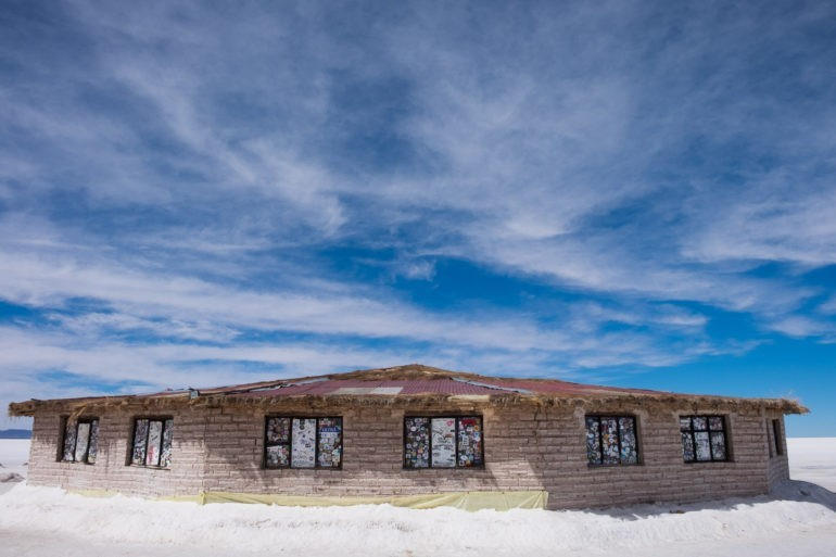 Nieczynny hotel solny na Salarze