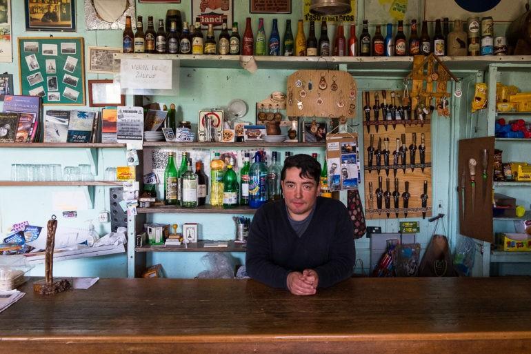 Sprzedawca w Los Tamariscos