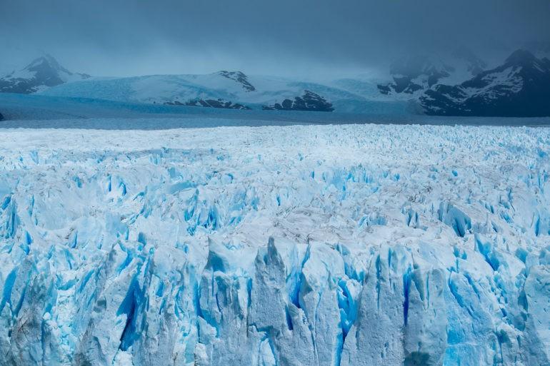 Lodowiec Perito Moreno...