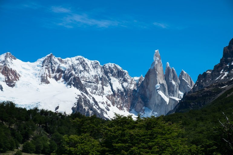 Słynna wieża Cerro Torre
