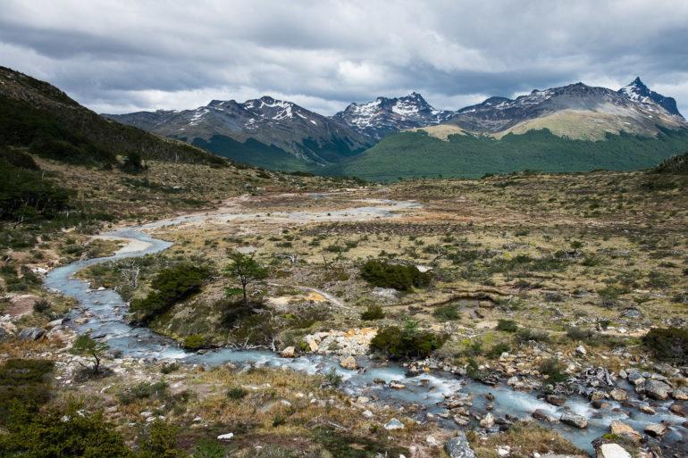 Szlak prowadzący do Laguny Esmeralda