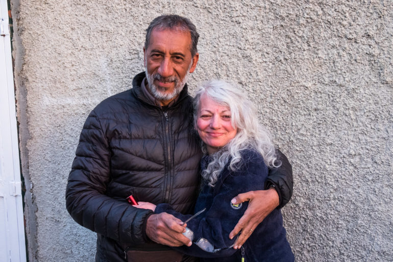 Para Argentyńczyków, którą spotkaliśmy przed Tolhuin.