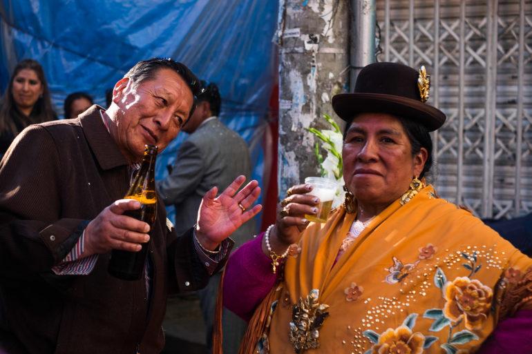 Impreza na rogu z okazji święta ulicy
