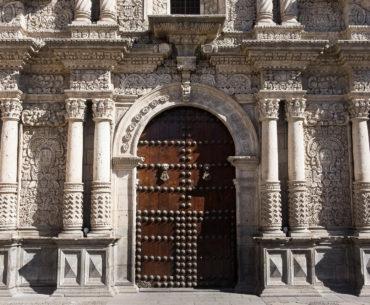 Jeden z kościołów w centrum Arequipy
