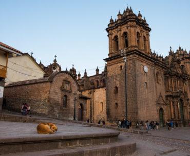 Bazylika przy Plaza de Armas w Cusco