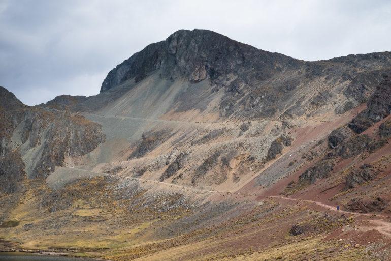 Te zygzaki to nawet nie połowa podjazdu na 4960 metrów