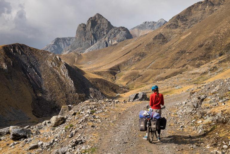 Przed podobno najtrudniejszą przełęczą Peru Great Divide