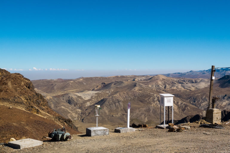 Fot. Carina Isabel Moreno Rivadeneira - Obserwatorium Chacaltaya