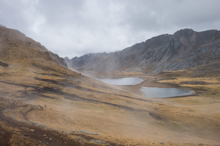 Mgła i grad sięgnęły nas przy jeziorze Susococha