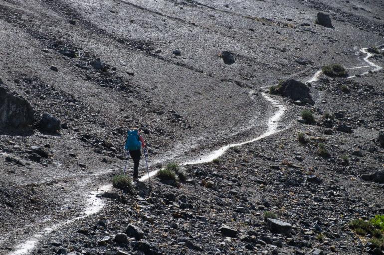 Idziemy na ostatnią wyższą przełęcz (Yauche 4840 m)