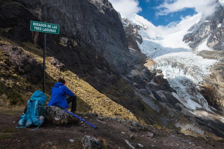 Jeden z 700 lodowców w Peru