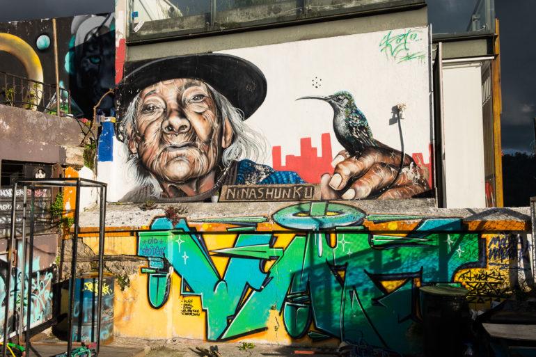 Street art przy ulicy La Ronda