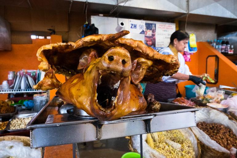 Powiedz Kolumbijczykowi, że jedzenie mięsa jest złe, a tak zareaguje