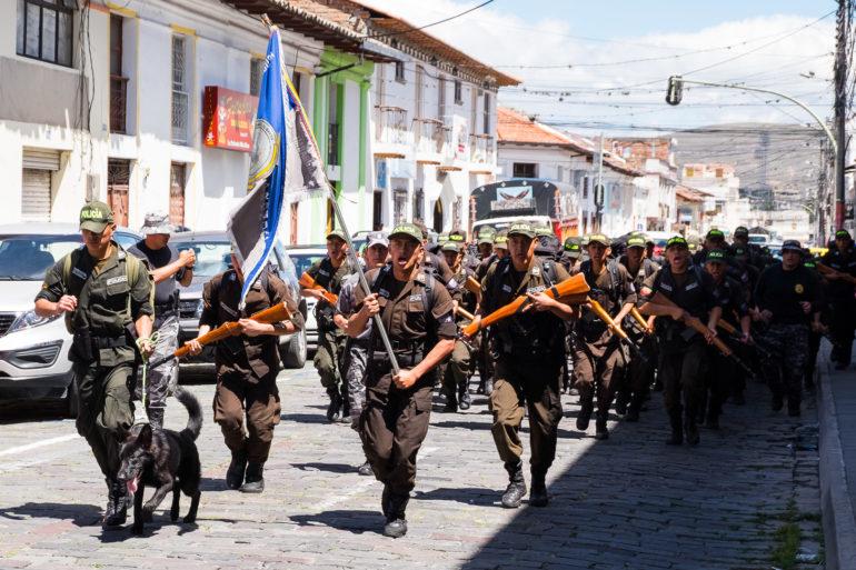 Maszerują w miejscowości Ibarra