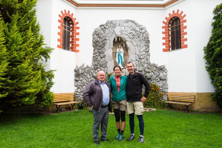 Pamiątkowe zdjęcie z bratem Mariuszem w Tulcán