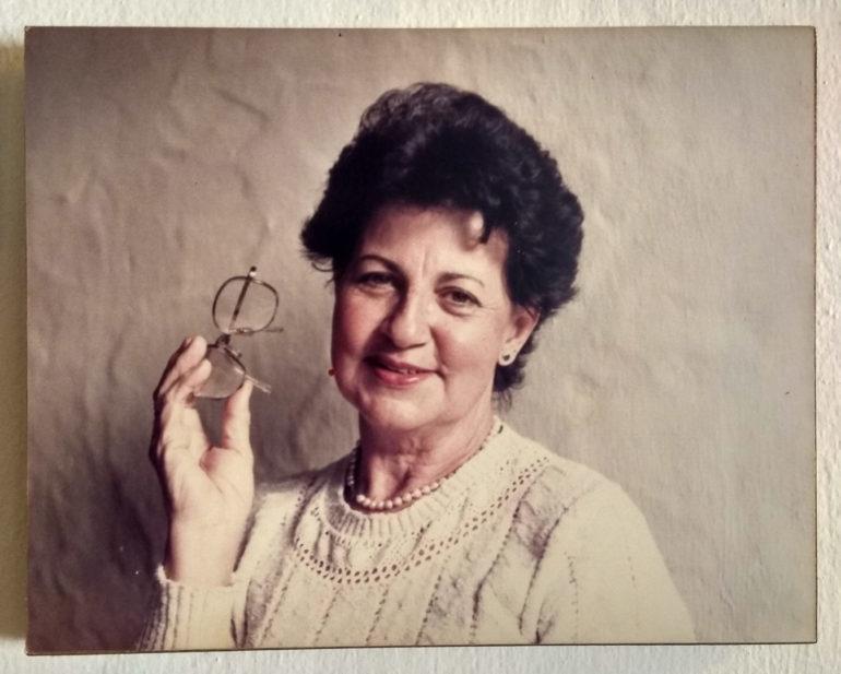 """Elvira, która przyjęła nas w Bogocie. Stara fotografia sprzed """"kilku"""" lat"""